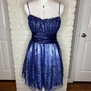 Deb Blue Formal / Prom Dress Size 13/14